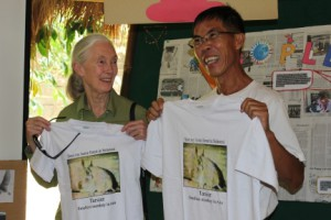 Dr Jane Morris Goodall and Dr. Ating Solihin