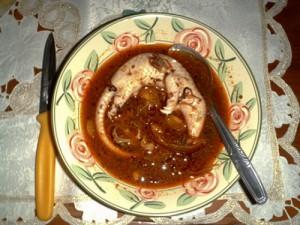 Pangolin soup